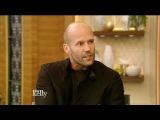 Jason Statham, Rashida Jones &amp co-host Scott Wolf Interview Live with Kelly (April 7, 2017)