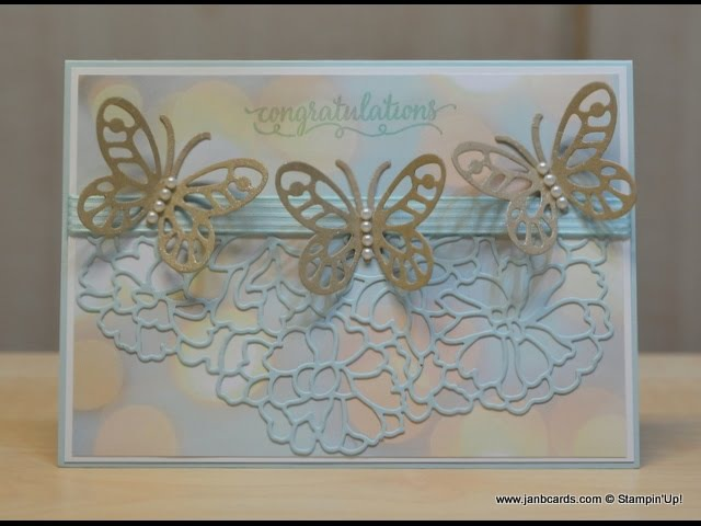 No.256 - Butterflies So Detailed Thinlits - JanB UK Stampin' Up! Demonstrator Independent