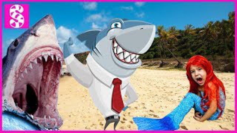Baby Shark Song for Bad Kids Educational video Nursery Rhymes for Bad Baby, Вредные детки и Акула