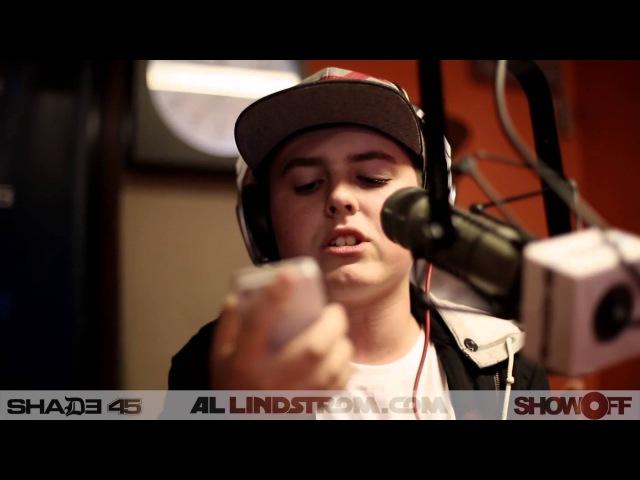 Chris Miles (14 Y/O) Freestyles On Shade 45 (Show Off Radio)