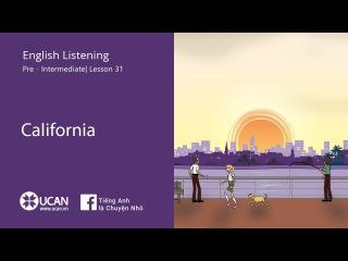 Learn English Listening | Pre-Intermediate - Lesson 31. California