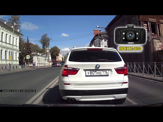 Видеорегистратор iBOX Z-800 день