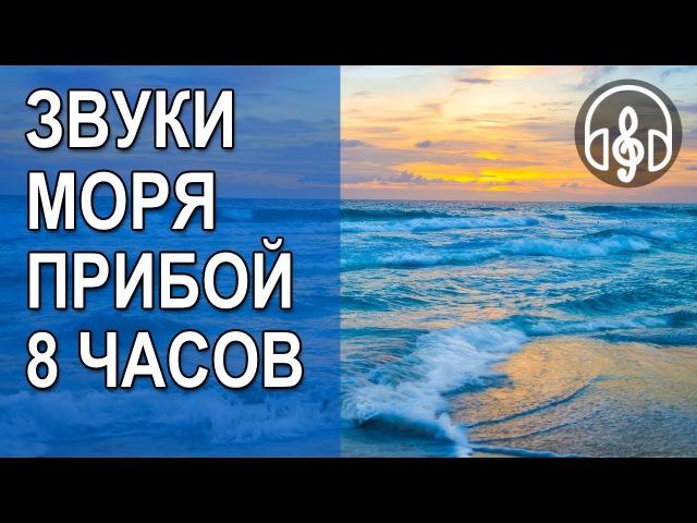 Звуки Моря и Шум Волны, Прибоя Живые Звуки Природы, 8 Часов Релакса