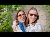 Мюжде Узман с мамой в рекламе для банка