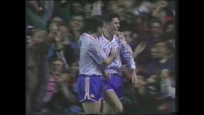 Arsenal 2 v Man Utd 6 1990/91 League Cup