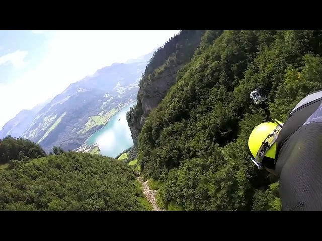 GoPro: Majestic Wingsuit Fling in Switzerland (HD)
