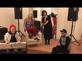 Участницы #Голос6 Оксана Войтович, Июлина Попова, Эка Джанелидзе!