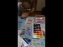 Катя рисует