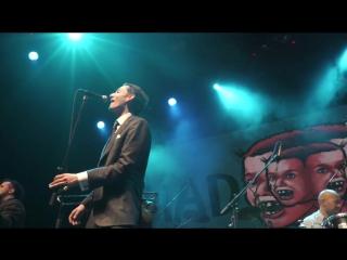 Выступление Mad Meg перед Эмиром Кустурицей & The No Smoking Orchestra в Yotaspace(Москва)
