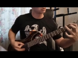 METALLICA - Master of Puppets intro riff cover