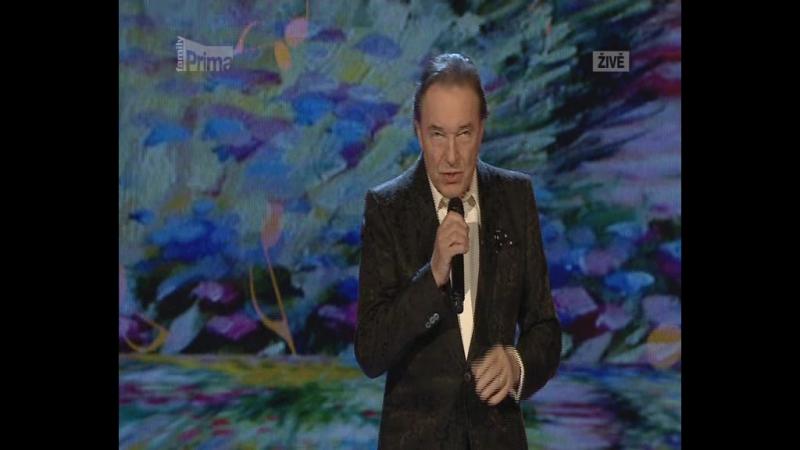 Karel Gott S tebou vždycky příjde máj Ceska Miss 2013 23 03 2013 DVBS Luco