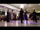 BEST TANGO EVER. 12 Famous Tangueros dance synchronized a milonga Choreography.