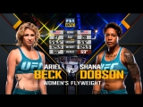 THE ULTIMATE FIGHTER FINAL Ariel Beck vs Shana Dobson