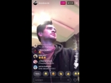 Brendon Uries Instagram Live ft. Mariah Carey's All I Want For Christmas Is You