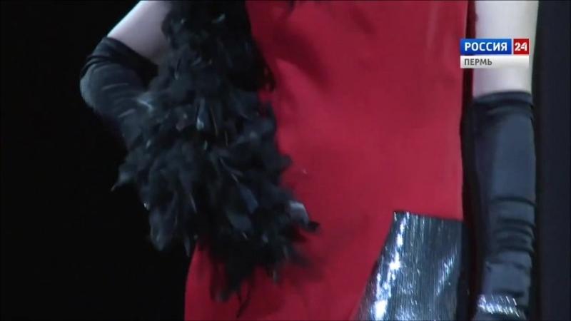 Red dress by Alena Modnaja special for Missis Perm