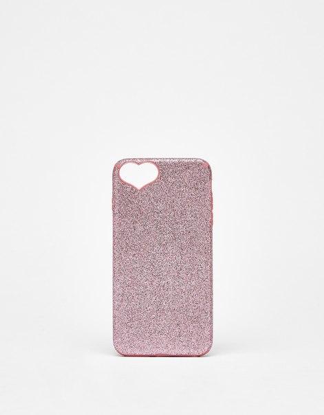 Чехол с блестками для iPhone 6 plus/7 plus