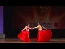 Студия арабского танца ADAMAS_дуэты ориенталь рук.Е.Воробьева