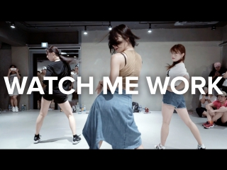 1Million dance studio Watch Me Work - Tinashe / Beginners Class
