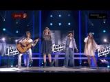 Hallelujah(Russian).The Voice Kids Russia 2016.Artem-Julia-Marsel-Xenia.
