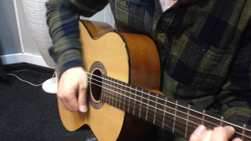 Бой с приглушкой на гитаре