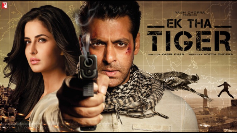 Жил-Был Тигр / Шпионские Страсти / Ek Tha Tiger (2012) HDRip