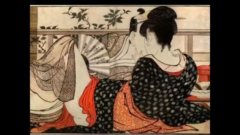Kitagawa Utamaro - Musica_ Kodo - brano_ Tsuku-no-sei