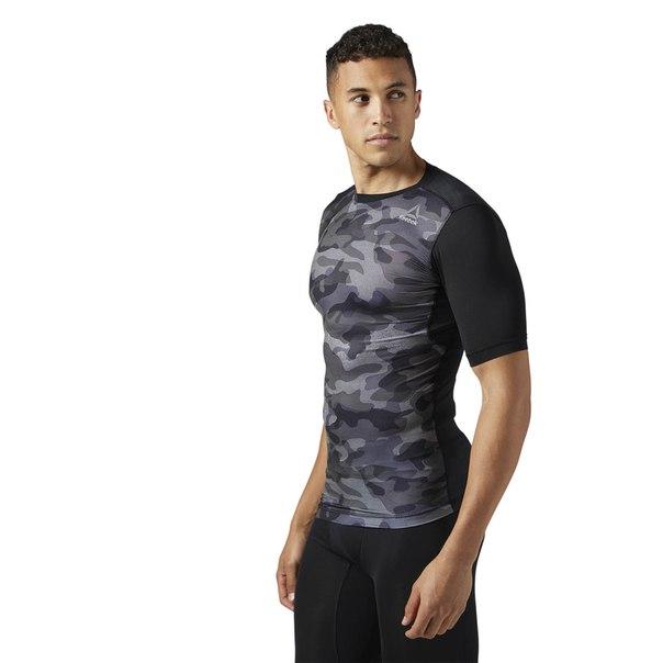 Компрессионная футболка ACTIVCHILL Camo Print