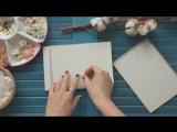 Видео открытка на 8 марта _ Скрапбукинг мастер класс _ Scrapbooking