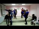 Самый галантный кавалер 26 02 Танец на газеце конкурс Лавелас