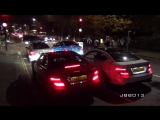 4 Crazy Mercedes C63 AMGs Terrorise The Streets of London!!