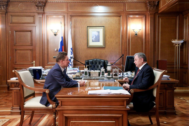 ВКалужской области ведется строительство 40 газопроводов