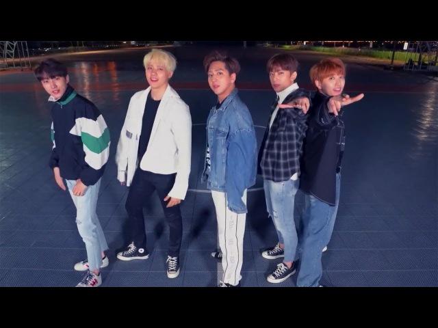 B1A4 - Rollin' Dance Practice (Mirrored)