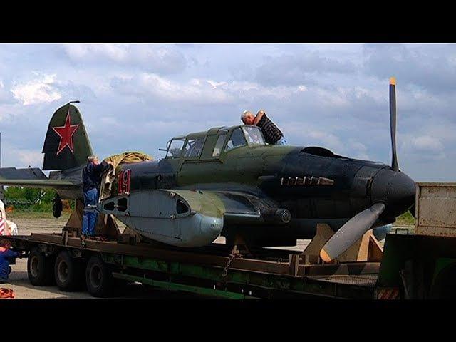 Уникальный штурмовик времен Великой Отечественной войны совершит полет на МАКС...