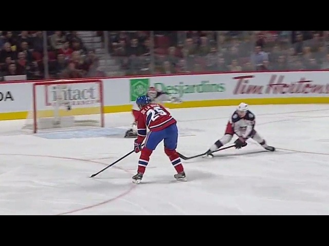 Gotta See It Blue Jackets Bobrovsky with incredible blocker save vs. Canadiens