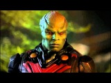 Supergirl 1x16 Martian Manhunter and Alex VS Supergirl under red kryptonite