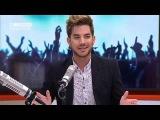 Adam Lambert on being 'open, honest and proud'