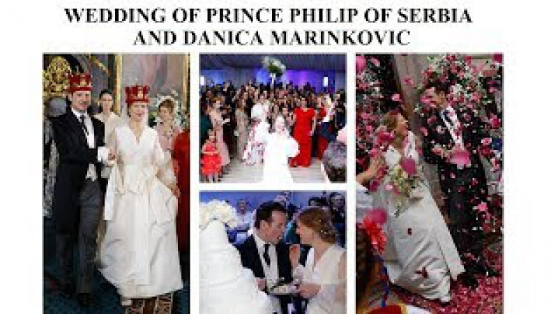 All the details Wedding of Prince Philip and Princess Danica of Serbia