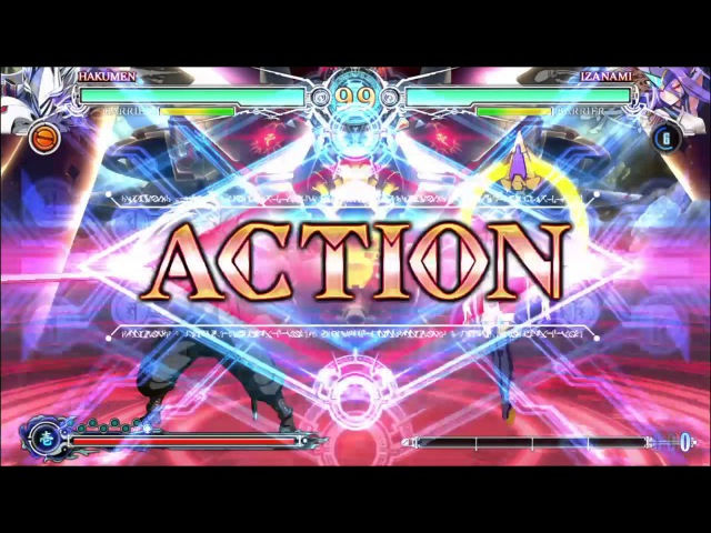 BlazBlue Central Fiction Demo Act 2 Final Boss Izanami Hell Mode