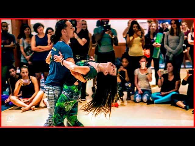 Ry'El Jessica Lamdon - LambaZouk Dance at the Interfusion Festival: Awakening