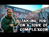 COMPLEXCON TOUR (MEETING JERRY LORENZO, Shopping FEAR OF GOD, Pacsun, REPRESENT, NIKE and More)