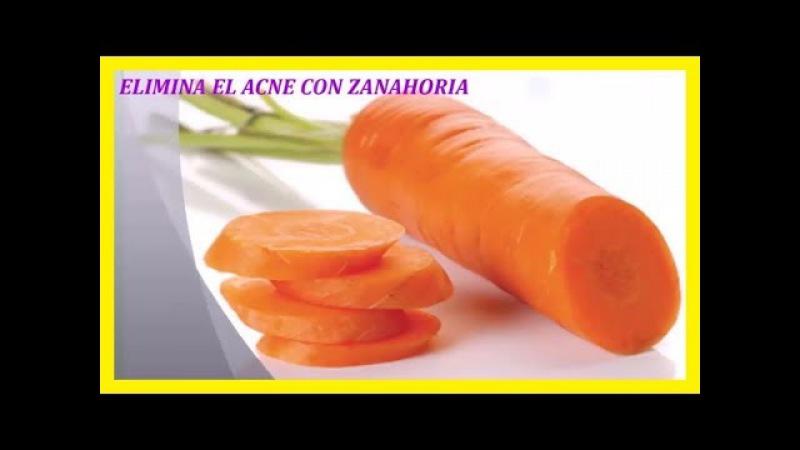 Mascarilla de Zanahoria para Eliminar el Acné