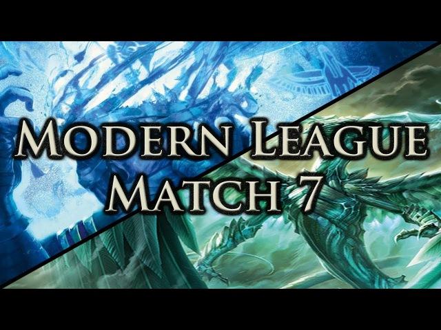 Modern League 7: Fraying Sanity Mill vs. Ugin Tron