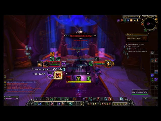 Breaking Dungeons from Vanilla to WoD as a DH with 230 Base Movement Speed!