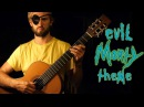 EVIL MORTY THEME Rick And Morty Guitar Cover For the Damaged Coda Blonde Redhead