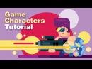GAME BOSSES - Game Design TUTORIAL - Speed Art