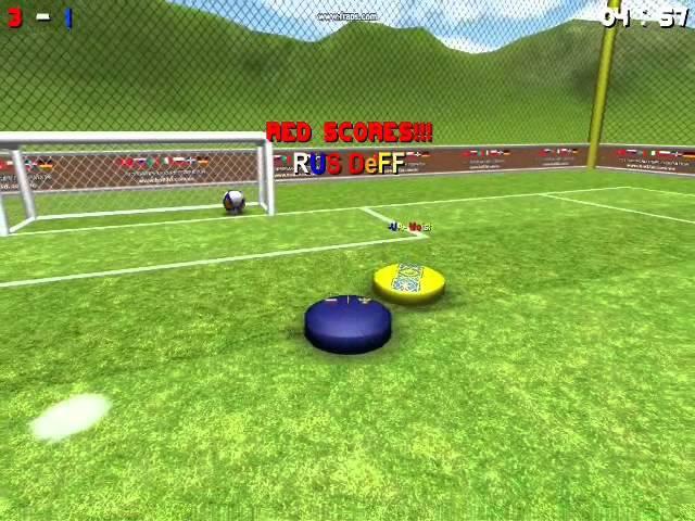 Ukraine 3-8 Russia Ball 3D