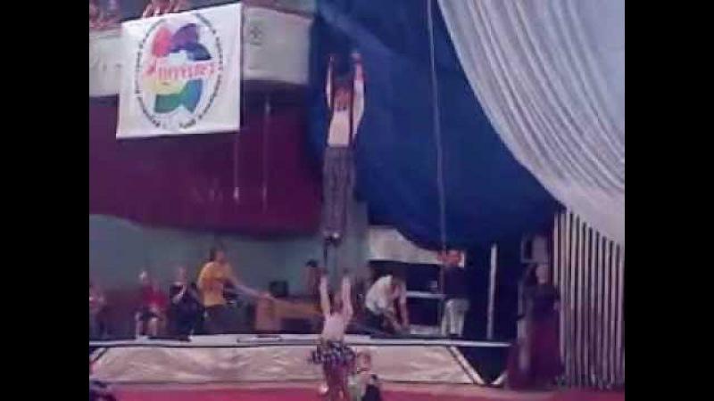 Старый цирк,Тина и Вова королева красоты