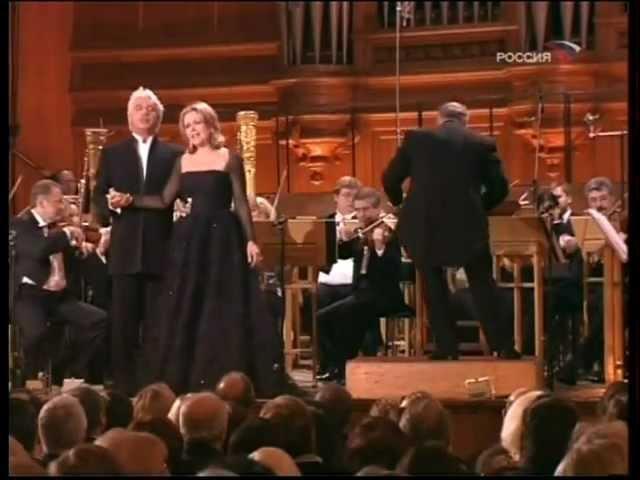 Dmitri Hvorostovsky and Renée Fleming, Moscow, 06.02.2006 (part 4)