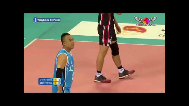 Liaoning (辽宁)vs Fujian (福建 ) | 26-11-2017 | Chinese Men's volleyball super league 2017/2018
