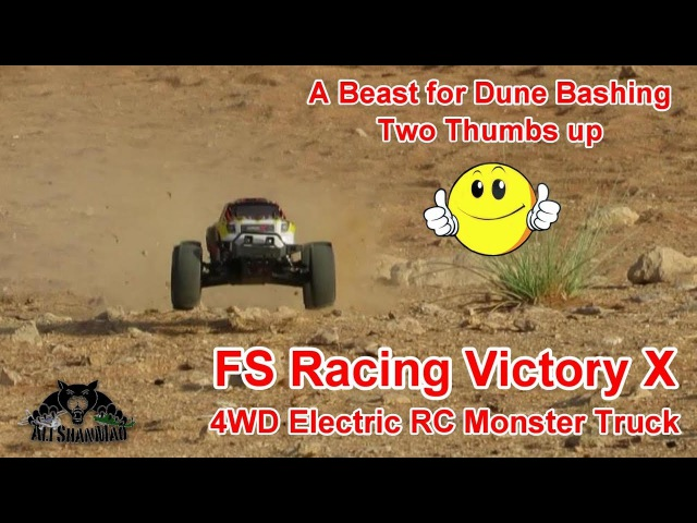 Awesome Dune Bashing with RC Electric Monster Truck